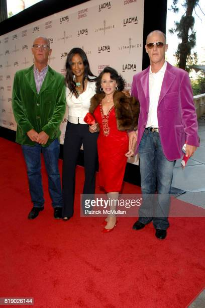Richard Dupont Beverly Johnson Nikki Haskell and Robert Dupont attend THE COSTUME COUNCIL of LACMA presents the West Coast Premiere of Ultrasuede In...