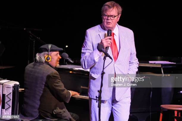 Richard Dworsky and Garrison Keillor performs at Iroquois Amphitheater on September 7 2017 in Louisville Kentucky