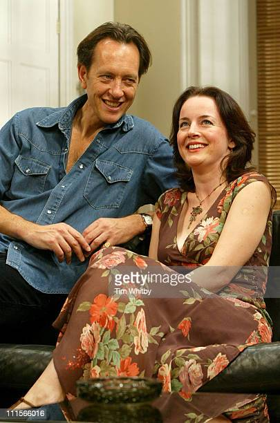 "Richard E Grant and Amanda Drew during ""Otherwise Engaged"" Photocall at The Criterion Theatre in London, Great Britain."