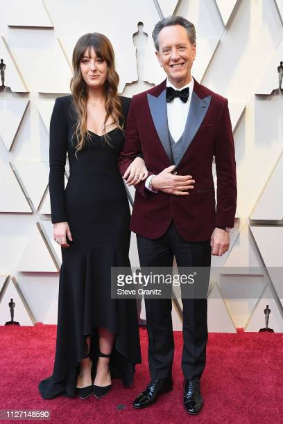 Richard E Grant and Olivia Grant attend the 91st Annual Academy Awards at Hollywood and Highland on February 24 2019 in Hollywood California