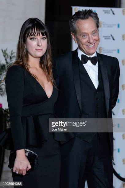 Richard E Grant and Olivia Grant attend the EE British Academy Film Awards 2020 After Party at The Grosvenor House Hotel on February 02 2020 in...
