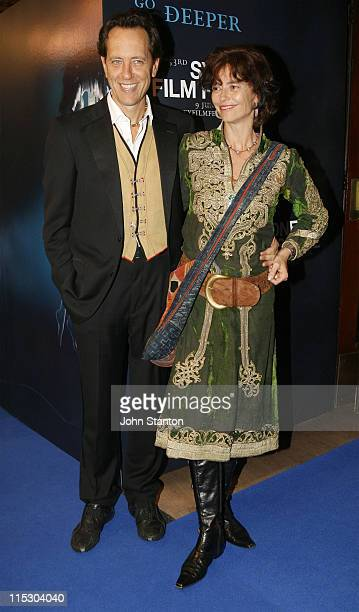 Richard E Grant and Rachel Ward during 53rd Annual Sydney Film Festival Opening Night at State Theatre in Sydney NSW Australia
