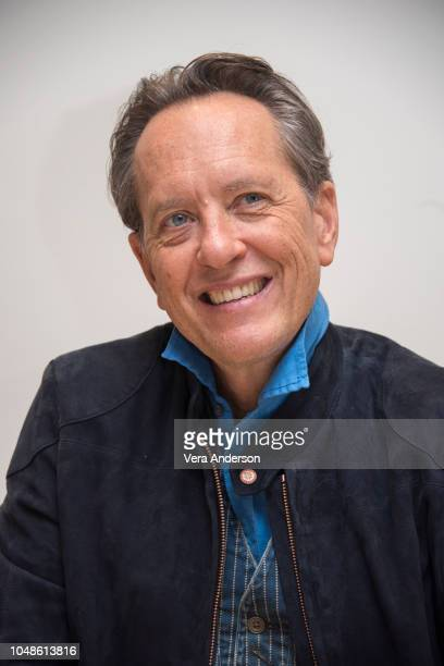 Richard E Grant at the Can You Ever Forgive Me Press Conference at the Four Seasons Hotel on October 8 2018 in Beverly Hills California