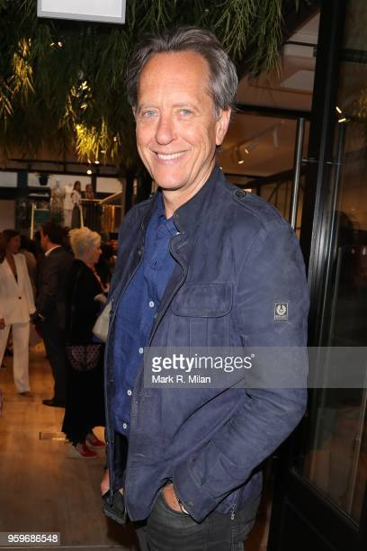 Richard E Grant attending the opening of the Bluebierd Cafe Covent Garden store on May 17 2018 in London England