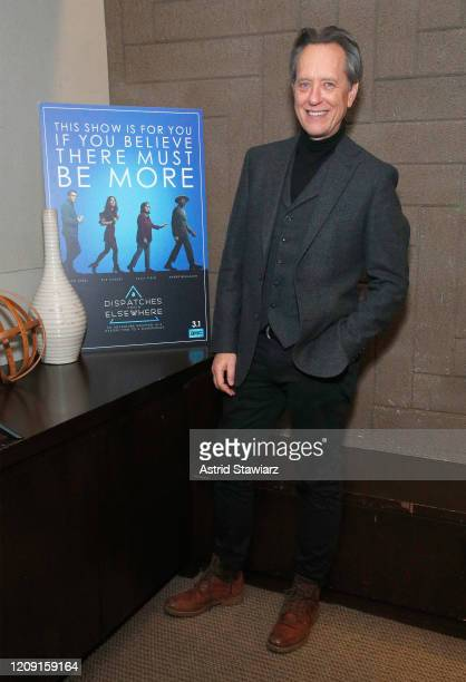 Richard E Grant attends IFC Dispatches From Elsewhere screening In NYC on February 27 2020 in New York City