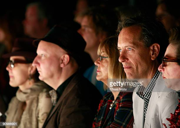 Richard E. Grant attends Jasper Conran during London Fashion Week Spring/Summer 2010 at Somerset House on September 20, 2009 in London, United...