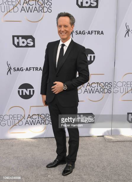 Richard E Grant attends the 25th Annual Screen ActorsGuild Awards at The Shrine Auditorium on January 27 2019 in Los Angeles California