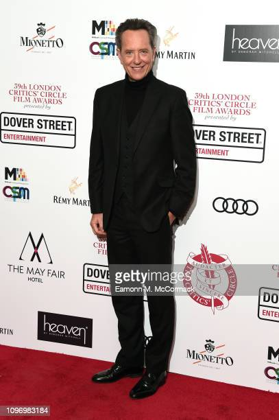 Richard E Grant attends the 39th London Critics' Circle Choice Awards at The May Fair Hotel on January 20 2019 in London England