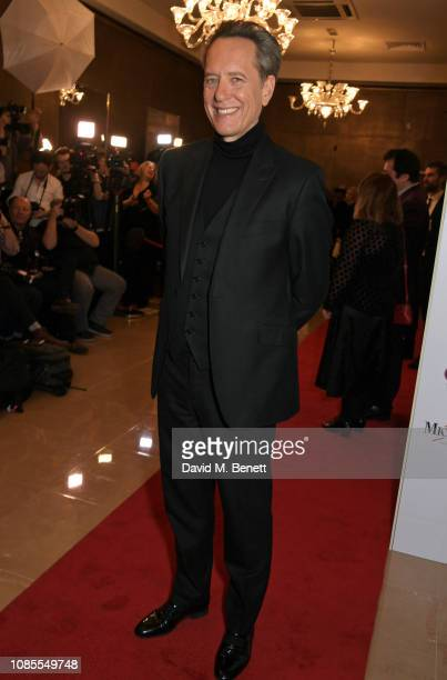 Richard E Grant attends The 39th London Film Critics' Circle Awards at The May Fair Hotel on January 20 2019 in London England