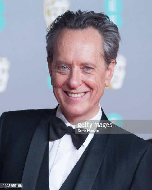 Richard E Grant attends the EE British Academy Film Awards 2020 at Royal Albert Hall on February 02 2020 in London England