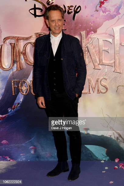 Richard E. Grant attends the European Gala Screening of Disney's 'The Nutcracker and The Four Realms' at Vue Westfield on November 01, 2018 in...