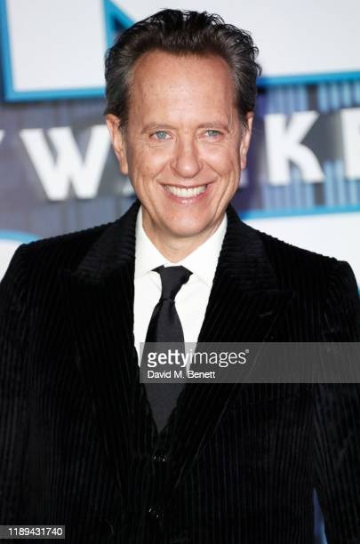 Richard E Grant attends the European Premiere of Star Wars The Rise of Skywalker at Cineworld Leicester Square on December 18 2019 in London England