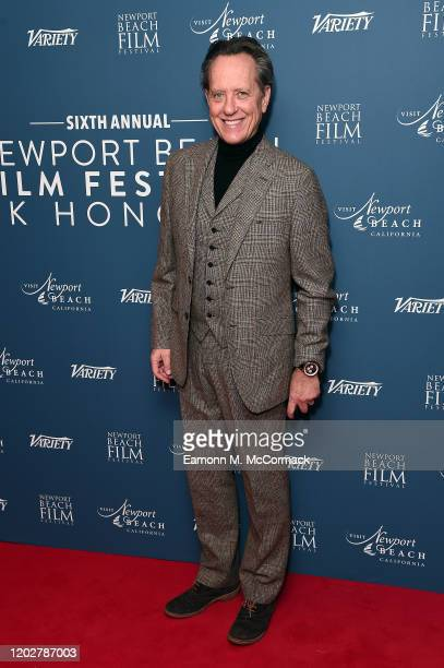 Richard E. Grant attends the Newport Beach Film Festival UK Honours 2020 at The Langham Hotel on January 29, 2020 in London, England.