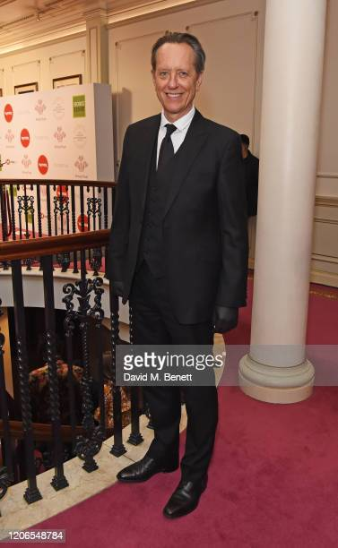 Richard E Grant attends The Prince's Trust and TKMaxx Homesense Awards at The London Palladium on March 11 2020 in London England