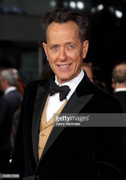 """Richard E Grant attends the Royal film performance of """"Mandela: Long Walk To Freedom"""" at Odeon Leicester Square on December 5, 2013 in London, United..."""