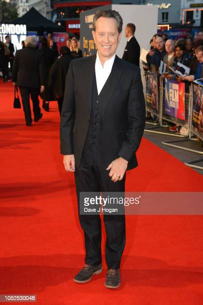 Richard E Grant attends the UK Premiere of Can You Ever Forgive Me Headline gala during the 62nd BFI London Film Festival on October 19 2018 in...
