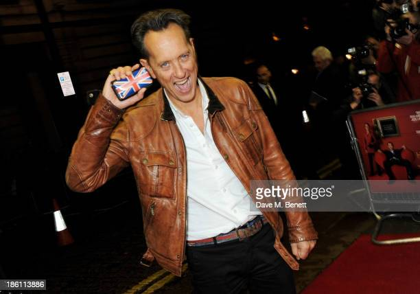 """Richard E. Grant attends the UK Premiere of """"Dom Hemingway"""" at The Curzon Mayfair on October 28, 2013 in London, England."""