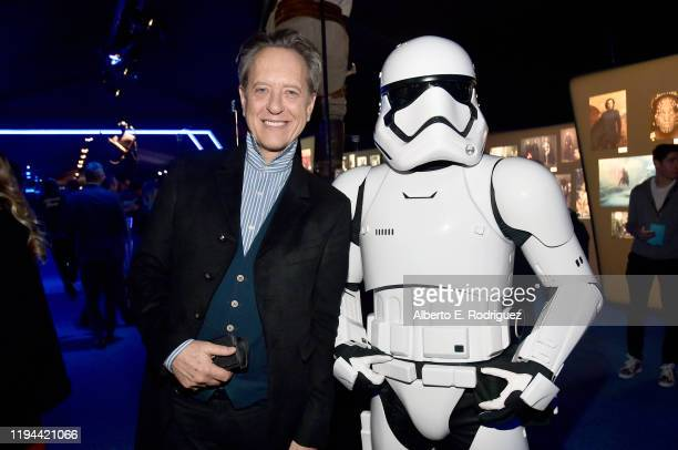 "Richard E. Grant attends the World Premiere of ""Star Wars: The Rise of Skywalker"", the highly anticipated conclusion of the Skywalker saga on..."