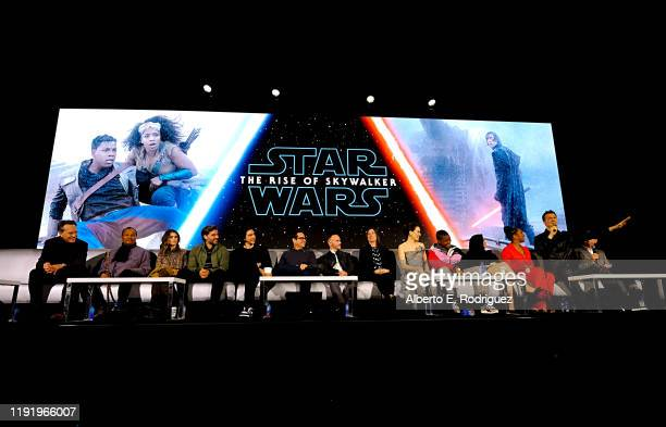 Richard E Grant Billy Dee Williams Keri Russell Oscar Isaac Adam Driver Writer/director JJ Abrams Cowriter Chris Terrio Producer and President of...