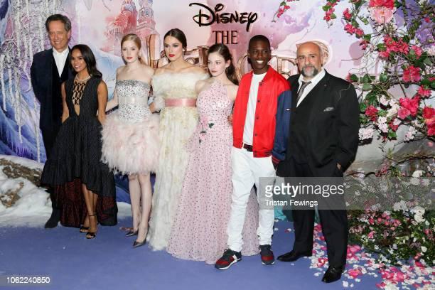 Richard E Grant Misty Copeland Ellie Bamber Keira Knightley Mackenzie Foy Jayden FoworaKnight and Omid Djalili attend the European Premiere of...