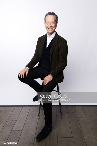Richard E Grant poses for a portrait at The BAFTA Tea Party on January 5 2019 in Beverly Hills California
