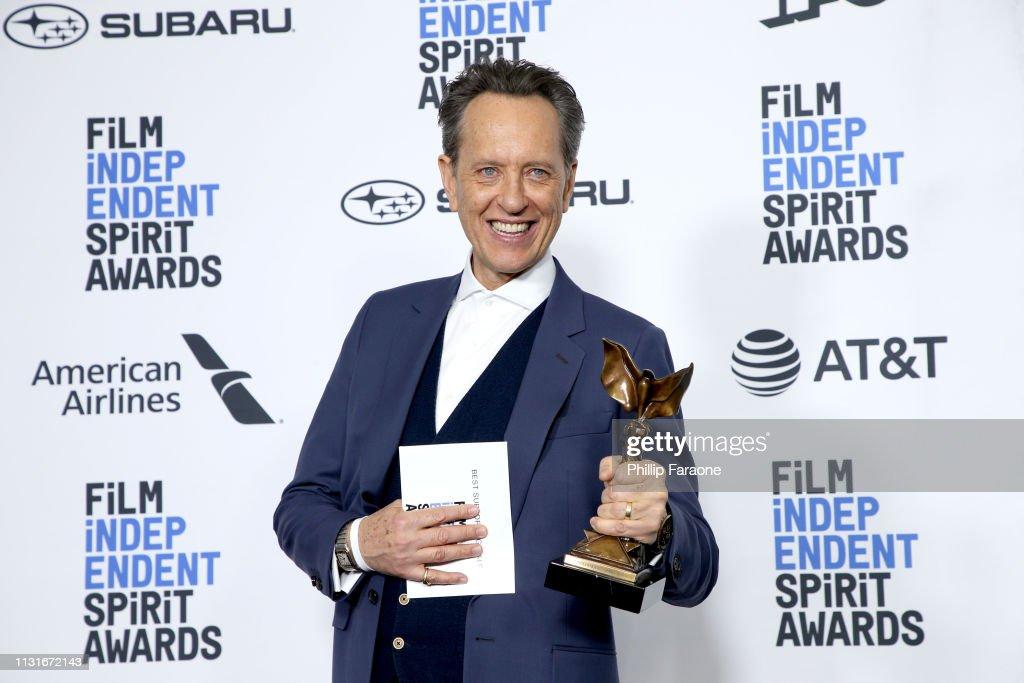 CA: 2019 Film Independent Spirit Awards  - Press Room
