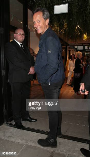 Richard E Grant seen attending The Shop at Bluebird launch party in Covent Garden on May 17 2018 in London England