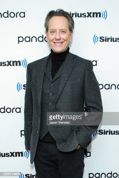 Richard E Grant visits SiriusXM at SiriusXM Studios on February 27 2020 in New York City