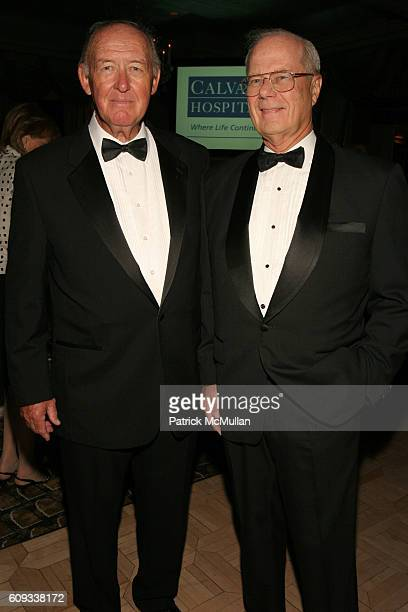 Richard E Meyer and Dr Thomas Fahey attend The 24th Annual Calvary Hospital Awards Dinner Dance at The Pierre Hotel on June 6 2007 in New York City