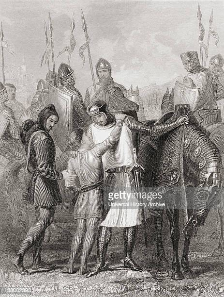 Richard Earl Of Pembroke Taking Leave Of His Brother Before Leaving For Ireland In 1169 Richard De Clare 2Nd Earl Of Pembroke Lord Of Leinster...