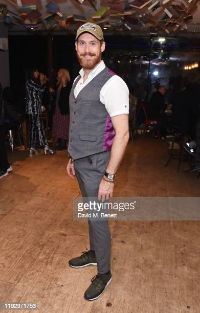 RIchard Ede attends the press night after party for Shackleton And His Stowaway at The Park Theatre on January 10 2020 in London England