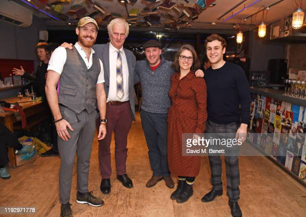 RIchard Ede Jonathan Shackleton Andy Dickinson Simone Coxall and Elliott Ross attend the press night after party for Shackleton And His Stowaway at...