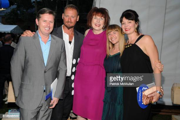 Richard Edwards, Matthew Weinstein, Marilyn Minter, Heather Harmon and Sarah Gavlak attend ASPEN ART MUSEUM hosts artCRUSH 2010 at Aspen Art Museum...