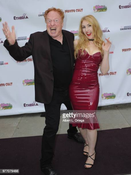 Richard Elfman and Anastasia Elfman arrive for the 2018 Etheria Film Night held at the Egyptian Theatre on June 16 2018 in Hollywood California