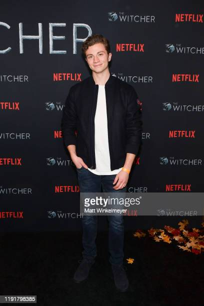 Richard Ellis attends the photocall for Netflix's The Witcher season 1 at the Egyptian Theatre on December 03 2019 in Hollywood California