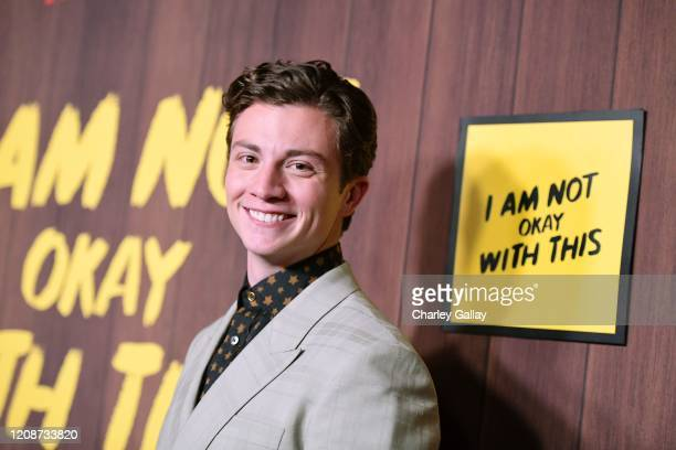 Richard Ellis attends the premiere of Netflix's I Am Not Okay With This at The London West Hollywood on February 25 2020 in West Hollywood California