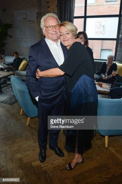 """Richard Eyre and Emma Thompson attend """"The Children Act"""" cocktail party at RBC House hosted by RBC for Toronto Film Festival 2017 on September 9,..."""