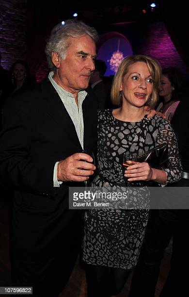 Richard Eyre and Lisa Dillon attend the afterparty following the press night of 'A Flea In Her Ear' at Vinopolis on December 14 2010 in London England