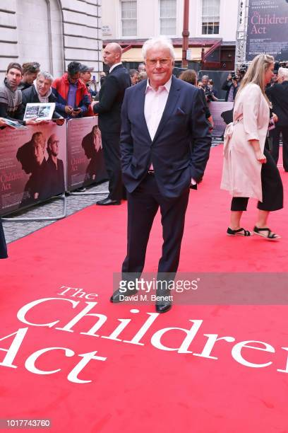 """Richard Eyre attends the UK Premiere of """"The Children Act"""" at The Curzon Mayfair on August 16, 2018 in London, England."""