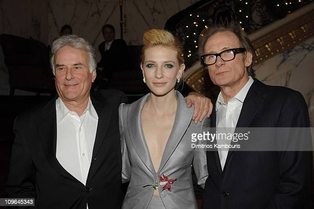 Richard Eyre, director, Cate Blanchett and Bill Nighy