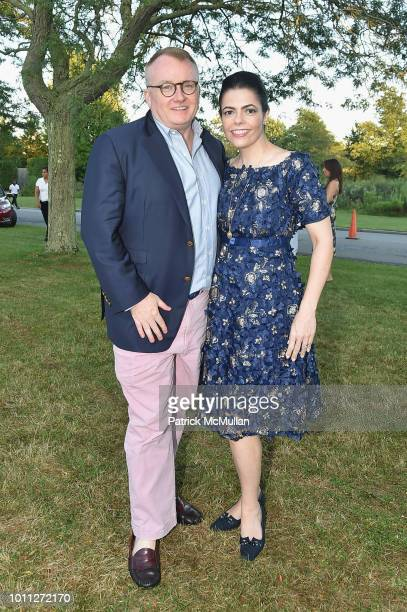 Richard Farley and Chele Farley attend the 60th Annual Summer Party For Stony Brook Southampton Hospital on August 4 2018 in Southampton New York