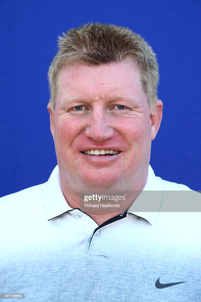 Richard Finch of England poses for a portrait after the first round of the European Tour Qualifying School Final at PGA Catalunya Resort on November 14, 2015 in Girona, Spain.