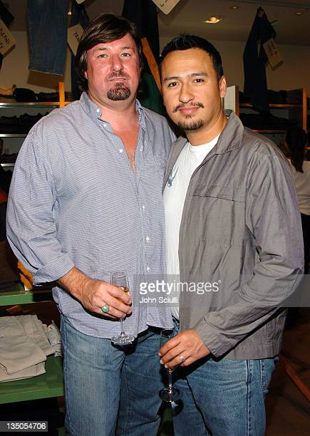 Richard Fisher and William Montalvo during 7 For All Mankind Denim Jeans Crystallized with Swarovski Release Party at Barneys in Beverly Hills...