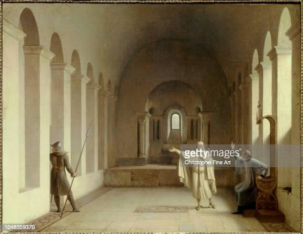 Richard Fleury Francois Jacques de Molay grand master of the Templars National Museum of Chateaux de Malmaison and BoisPreau at Rueil Malmaison
