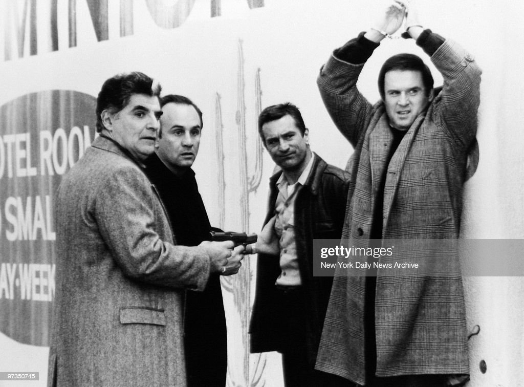 Richard Foronjy, Robert Miranda, Robert De Niro and Charles  : News Photo