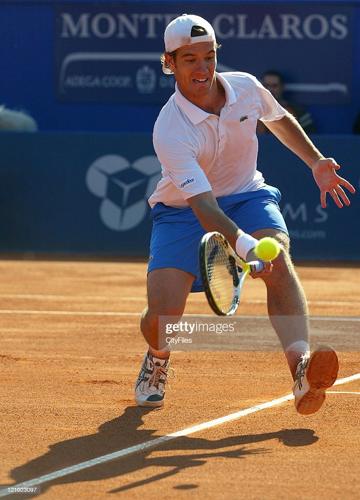 ATP - 2007 Estoril Open - Men's Singles Final - Richard Gasquet vs Vicent Novak Djokovic - May 6, 2007 : ニュース写真