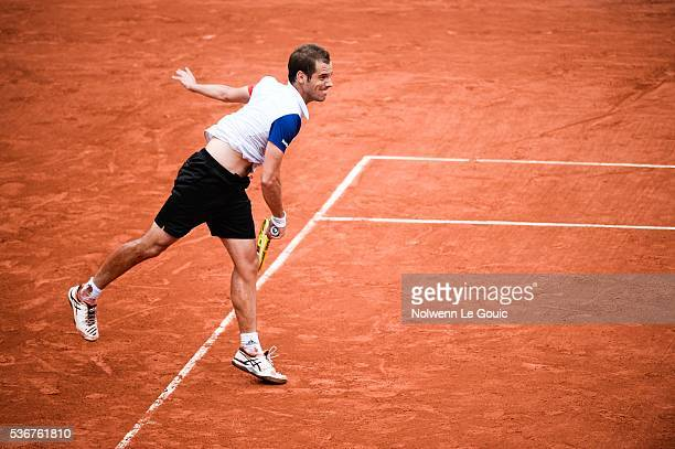 Richard Gasquet during the day eleven of the French Open 2016 at Roland Garros on June 1 2016 in Paris France