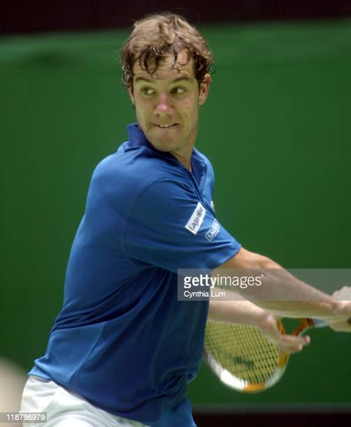 Richard Gasquet is defeated Tommy Haas 62 7 5 62 in the first round of the Australian Open Melbourne Park Melbourne Australia