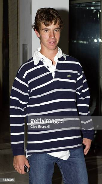 Richard Gasquet of France arrives at the ATP Awards Night held at the MonteCarlo Sporting Club during the ATP Tennis Masters Series in Monte Carlo...