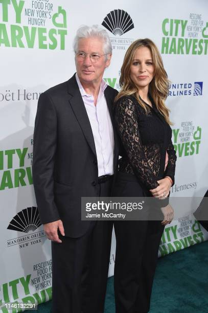 Richard Gere and Alejandra Silva attends City Harvest The 2019 Gala on April 30 2019 at Cipriani 42nd Street in New York City